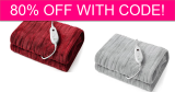 Heated Blankets – 2 Color Options – 80% off!