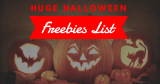 HUGE List of Halloween FREEBIES – 2018 🎃