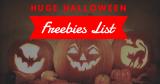 Halloween Freebies List ! [ 37 Halloween FREEBIES! ]