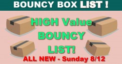 15 HUGE Bouncy Boxes Giveaway LIST – ALL WORTH $50 or MORE! – ALL NEW: Friday !