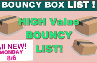 Bouncy Boxes Giveaway LIST – ALL WORTH $50 or MORE! – ALL NEW: Monday !