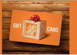 Win a $500 Home Depot Gift Card !