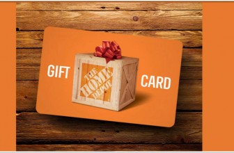 $2500 Home Depot Gift card! Yes, Please !