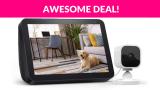 Echo Show 8 with Blink Mini Indoor Smart Security Camera