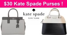 $30 Kate Spade Purses ! RUNNN!