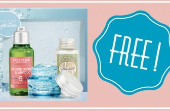FREE L'Occitane On-The-Go Hydration Gift Box!