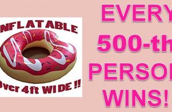 RUN! Every 500th Person WILL WIN!