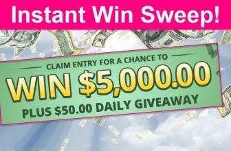 Instant Win Sweep! RUN! Win $5,000 !