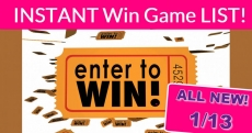 WOWZA! ALL NEW Instant Win Games = NEW TODAY = 1/13/2020!