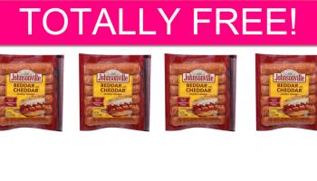 TOTALLY FREE Johnsonville Sausage!