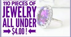 110 Pieces of JEWELRY ALL UNDER $4.00 BUCKS!