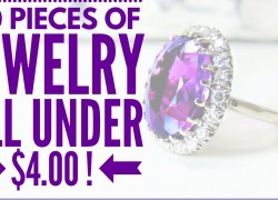 110 Pieces of JEWELRY ALL UNDER $4.00 BUCKS!