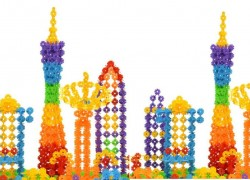 150 PC Kids Building Set ONLY $2.77 & FREE Shipping