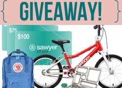 Win over $1,000 of Kiddo Stuff !