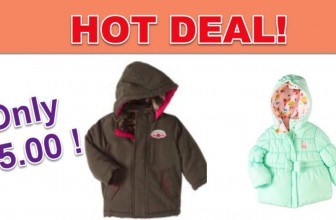 Kids Jackets For ONLY $5.00! [ Reg. $19.99 ! ]