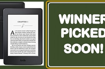[ Amazon Giveaway! ] Win Kindle Paperwhite E-reader