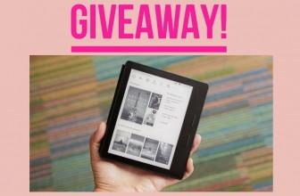 Win a Kindle Oasis E-reader ($349 VALUE)!