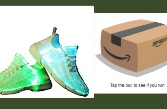 INSTANT WIN : Adult LED SNEAKERS!