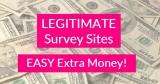 25 LEGITIMATE survey sites = EASY Extra Money !