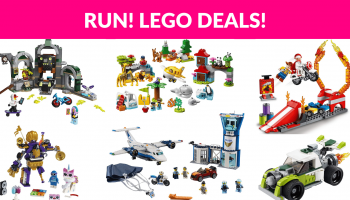 Run! Awesome Lego Deals!