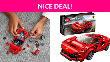 LEGO Speed Champions Ferrari F8 Tributo Toy Cars