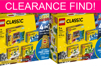CLEARANCE FIND! HUGE Lego Nearly 50% Off Online!