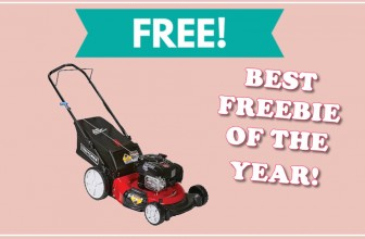 TOTALLY Free Craftsman Lawnmower! – BEST FREEBIE OF THE YEAR!