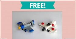 Free LEGO Airplane Mini Model