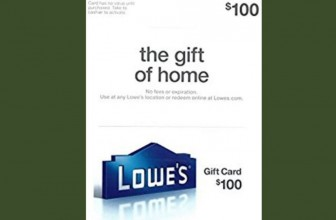 INSTANT WIN A $100 Lowes Gift Card!