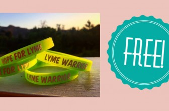 Free Lyme Warrior Wristbands