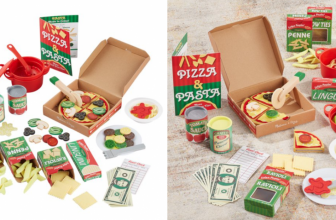 Melissa & Doug Deluxe Pizza & Pasta Set JUST $20 SHIPPED (was $55!)