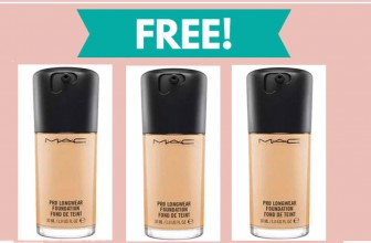 RUN! Get a FREE Sample of MAC Foundation at Ulta!