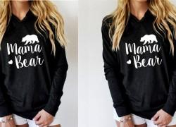 HURRY! Mamabear Sweatshirt ONLY $7.58 SHIPPED!
