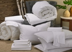 Win a Marriott Stay or a Complete Bedding Set