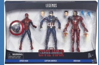 WOWZA! RUN DEAL ! Marvel Legends 3-Pack ONLY $14.31 ( Reg. $59 !)