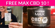 Free Sample By Mail OF Max CBD 10 !
