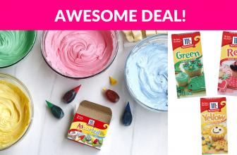 Hot Deal McCormick Food Coloring