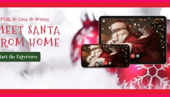 Meet & Talk With Santa 🎅 Online !