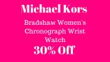 30% Off Michael Kors Women's Watch