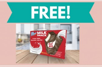 FREE Prairie Farms Milk Snack Cake Bars 4 Pack!