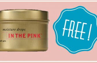 Totally FREE  In the Pink Moisture Drops Or Massage Oil!