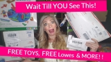 How I got $100's of Stuff FOR FREE! { FREE Toys, FREE Lowes, FREE Amazon and MORE! }
