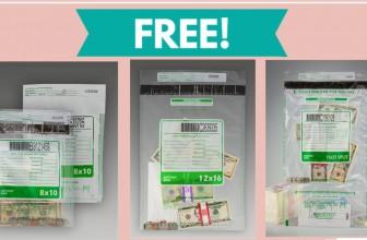 TOTALLY Free Money Deposit Bags!
