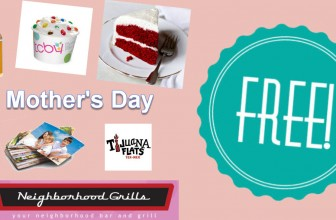FULL LIST of MOTHER's DAY FREEBIES!