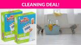 60% OFF! Mr. Clean Magic Eraser Bath Scrubber, 4Count (Pack of 2)