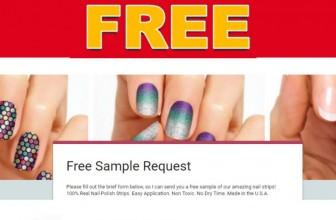 FREE Nail Polish Sample!