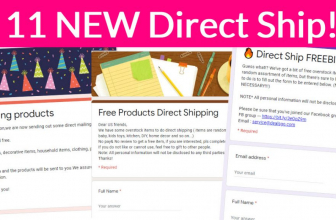 11 NEW Direct Ship FORMS! – RUN!