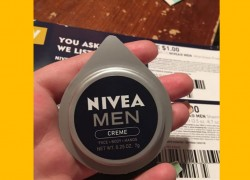 FREE Sample of Nivea's Men Creme