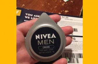 FREE Sample of Nivea's Men Creme