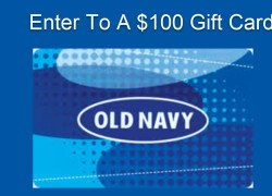 Enter To Win a $100 OLD NAVY Gift Card!